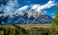Teton Range, Wyoming 2010