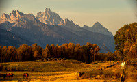 Teton Range, Wyoming, 2010
