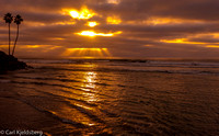 Solana Beach sunset 11-22-12