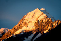 Sunset over Mount Cook