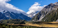 Entry to Mount Cook National Park